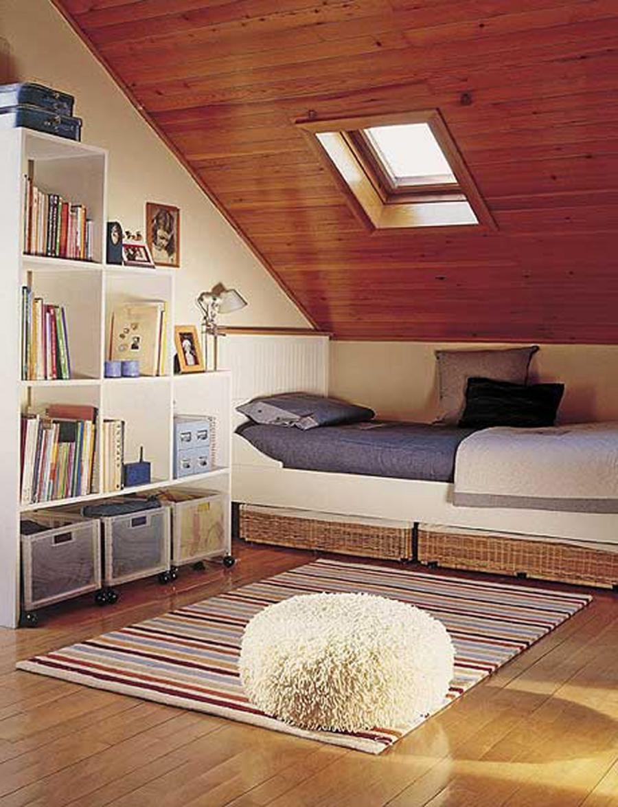 Attic Bedroom Decoration