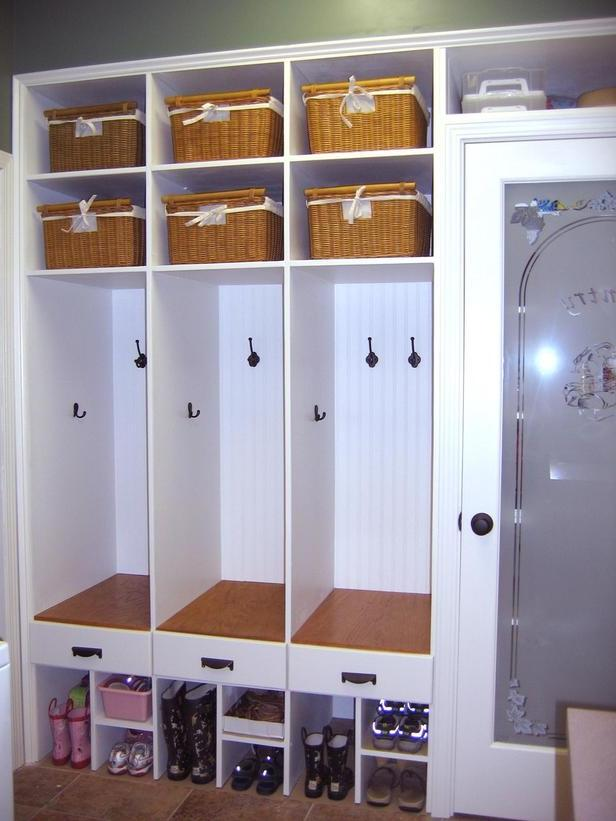 Mudroom Storage Cabinet