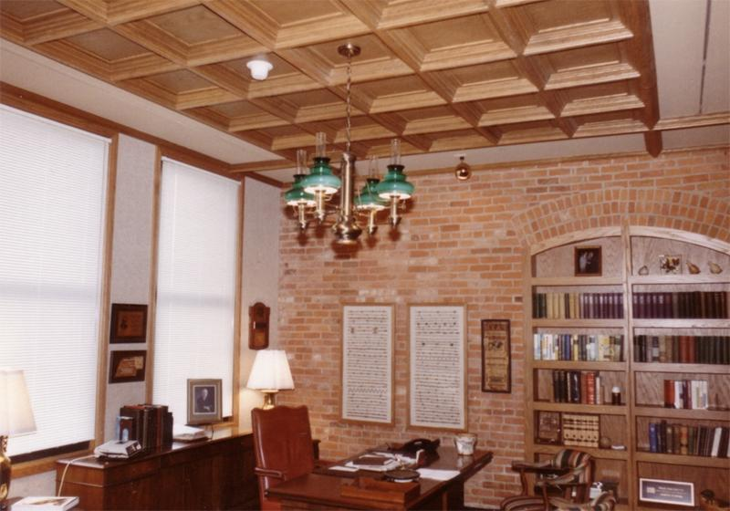 ... Old World Coffered Ceiling System ...