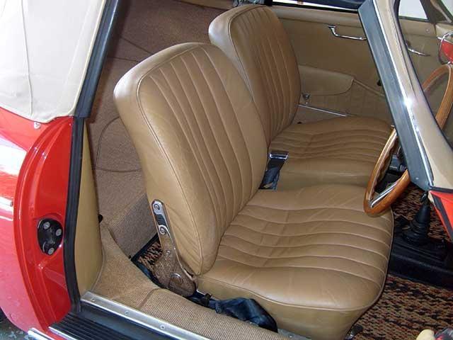 Porsche 356 Interior Photos