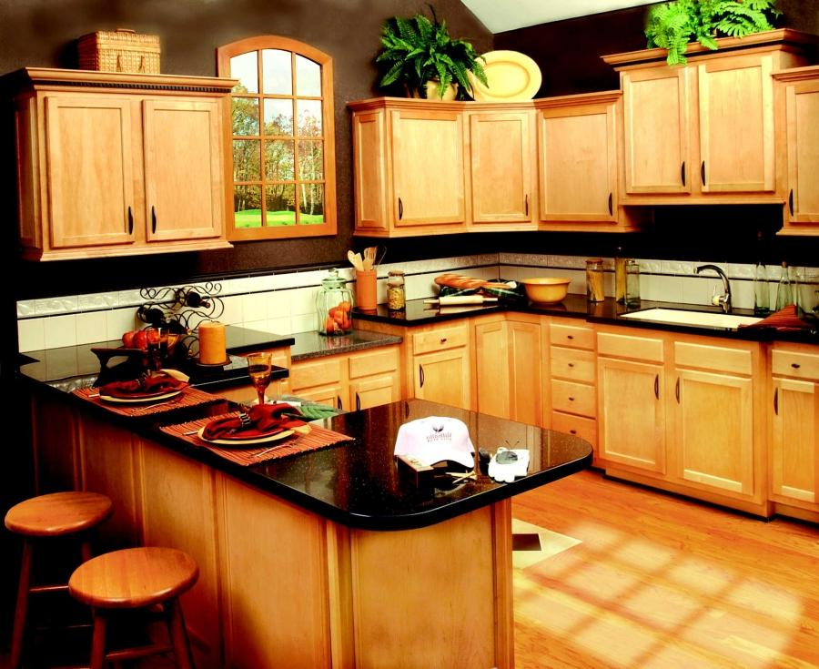 small kitchens decor plans