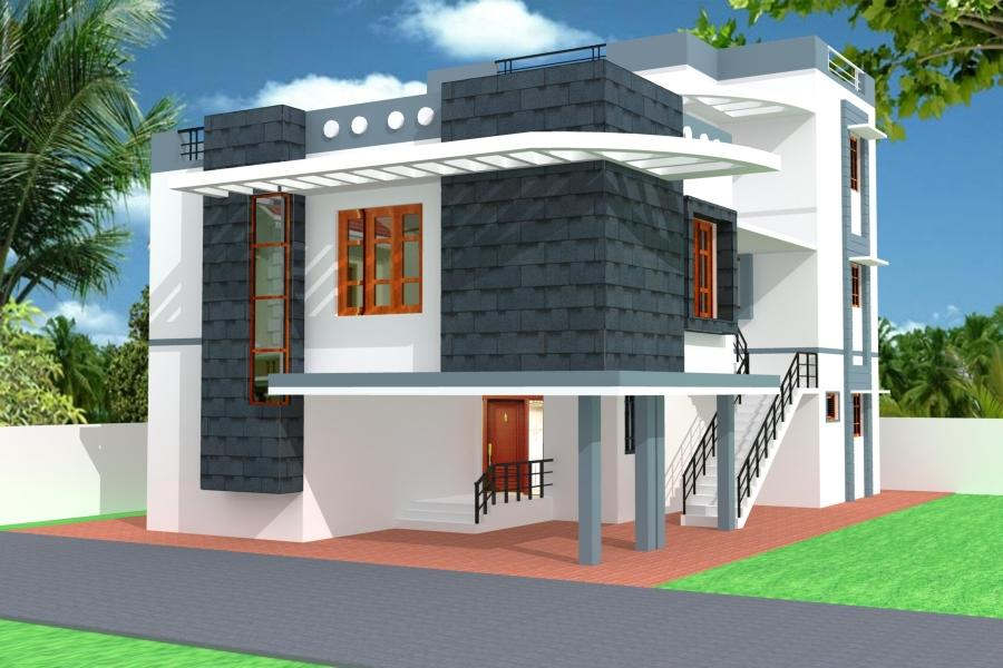 Front Elevation Of House In Chennai : Front elevation of house photos in chennai