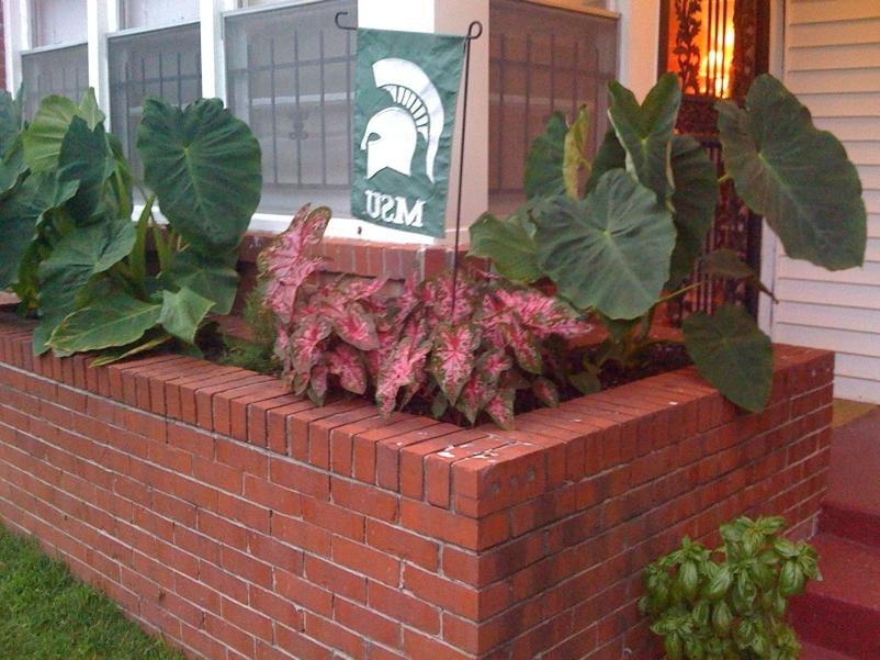 Brick Planter Designs Photos