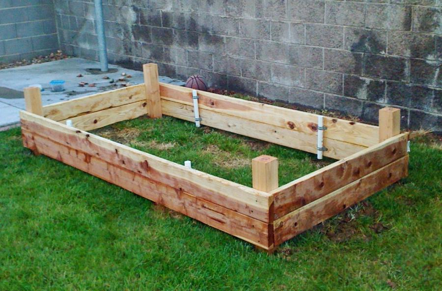 Raised bed gardening designs photos
