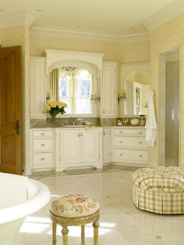 Consider a variety of French country bathroom design ideas and...