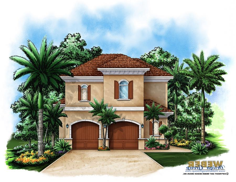 House plans caribbean photos for Caribbean house plans