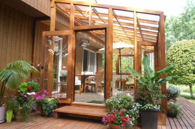 Cedar Sunroom Photos