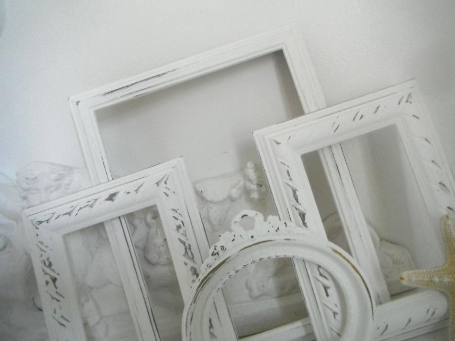 Cottage style photo frames for Bungalow style picture frames