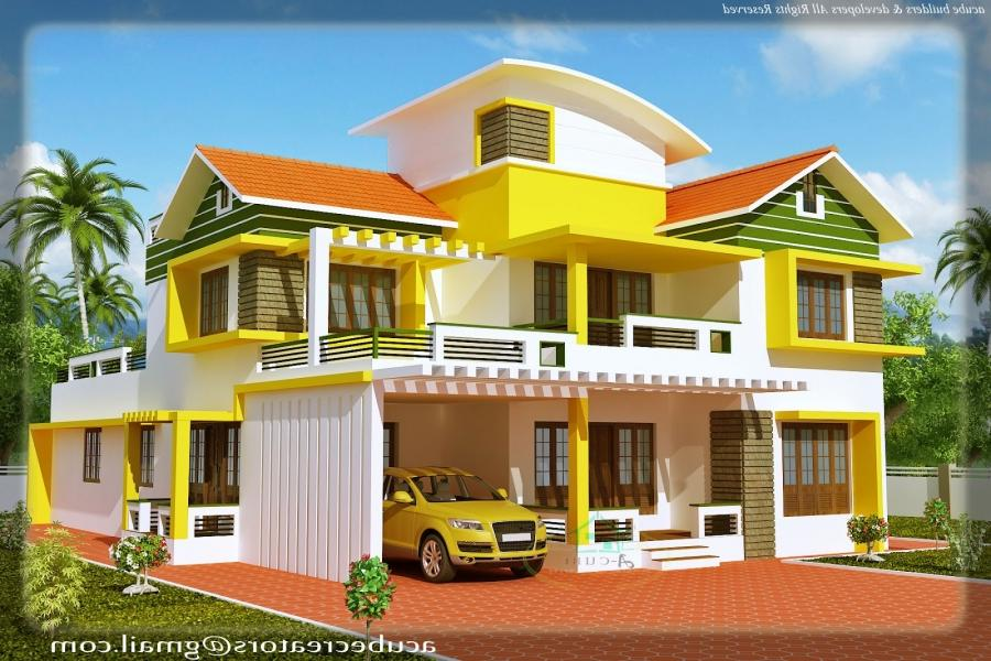 Duplex house models photos for Duplex house elevation models