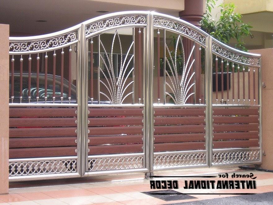 Home Design Gate Ideas: Compound Gate Design Photos
