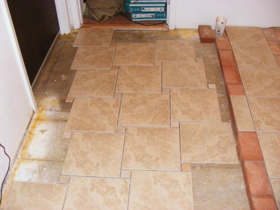 Tile floor installation photos for Ceramic floor installation