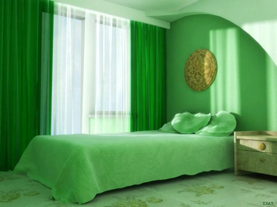 Innovative Lime Green Walls Living Room