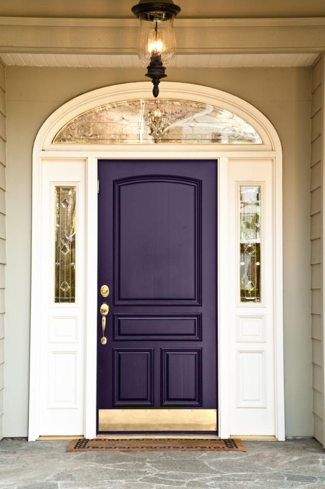 Purple Front Door Photos
