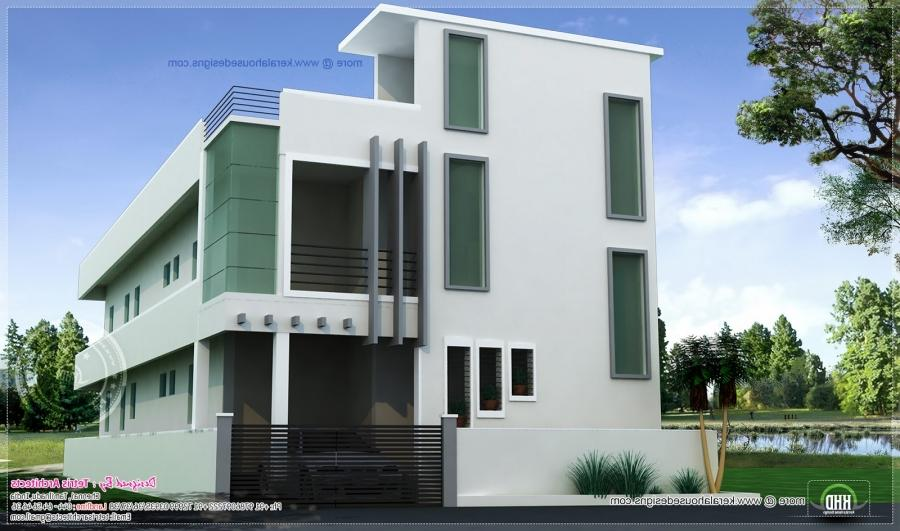 Front Elevation Of Residential Houses : Residential house front elevation joy studio design
