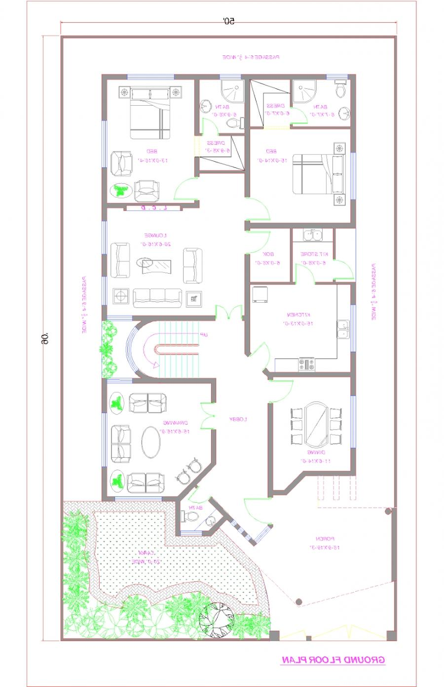 Pakistan house plans photos for Pakistan house designs floor plans
