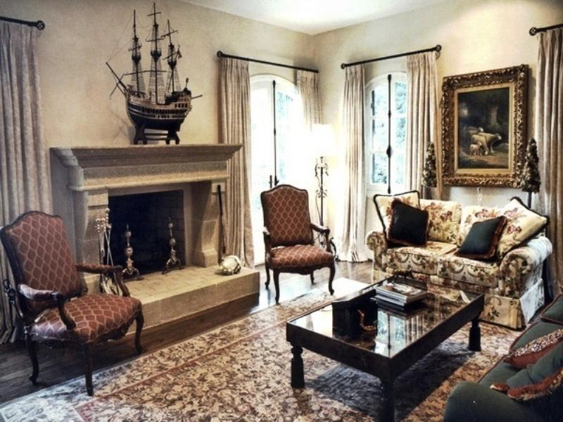 Perfectly Classic Sharp Living Room listed in: classic Living...
