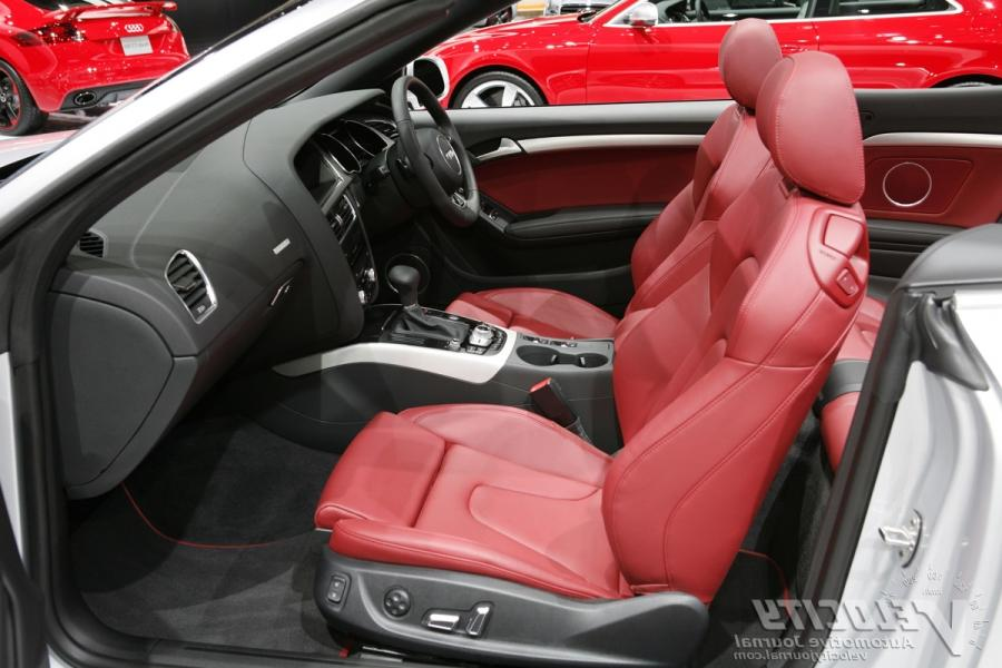 Audi A5 Cabriolet Interior Photos