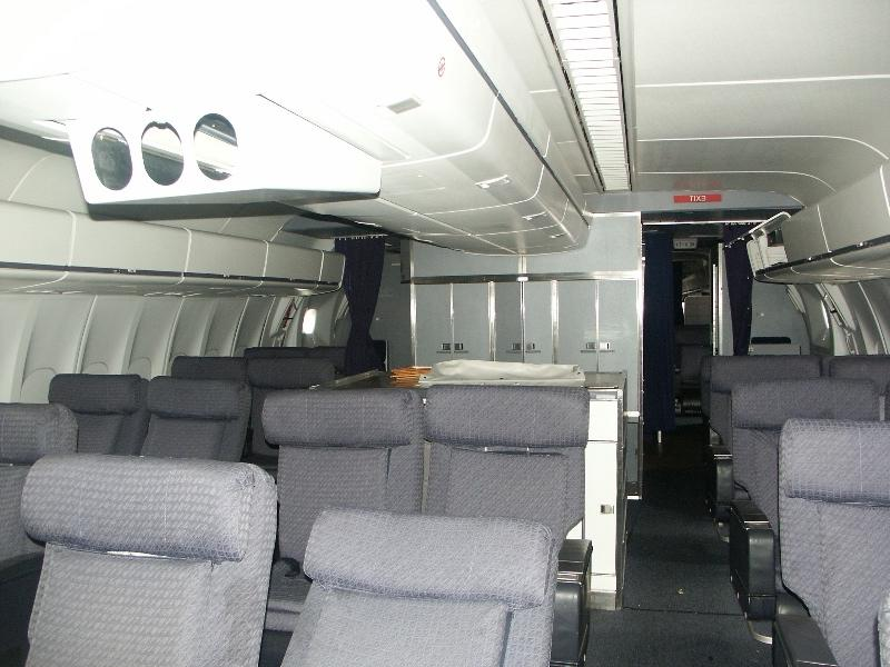 Continental Airlines Interior Photos