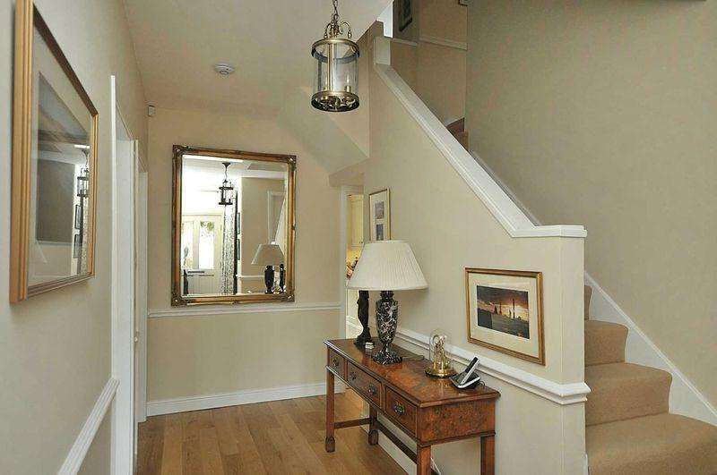 photo of beige cream entrance entrance hall