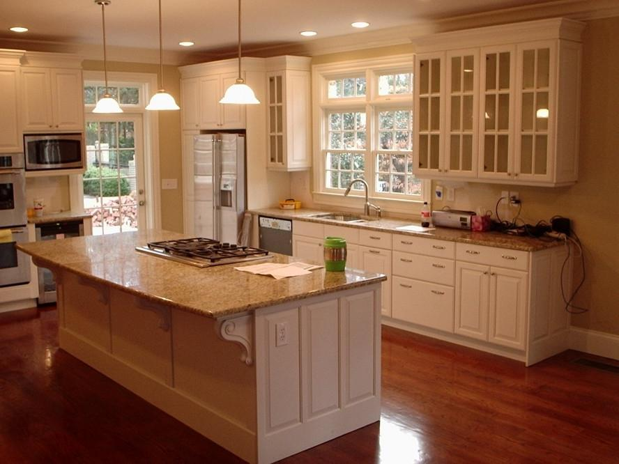 Creative Kitchen Cabinets Pictures White Color Modern Design...