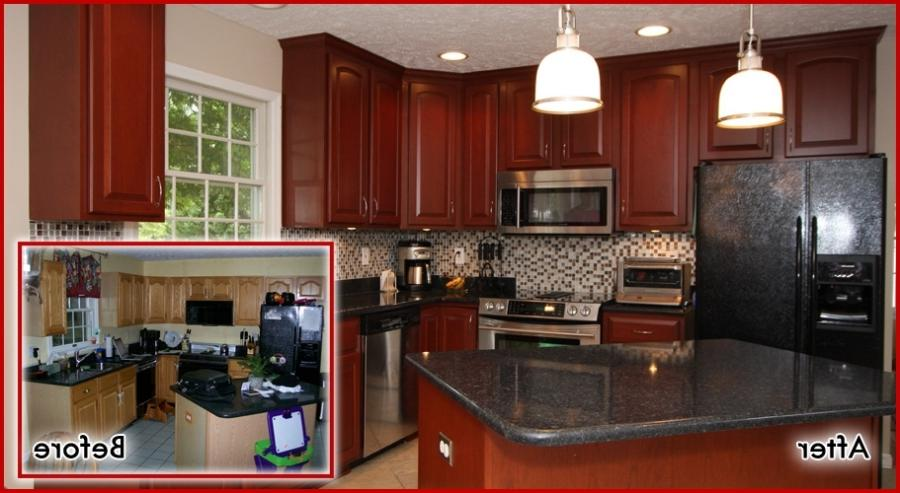 Kitchen cabinet remodel photos for Cheap kitchen cabinets st louis