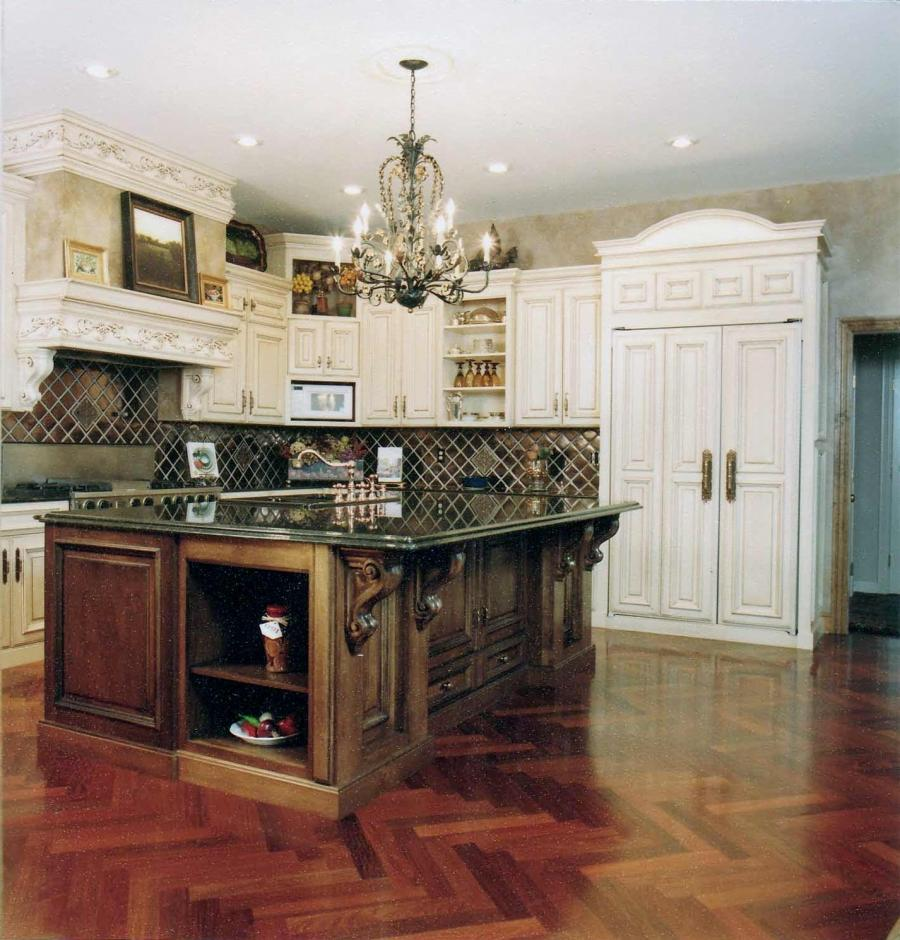 alluring french kitchen design ideas : country french kitchen...