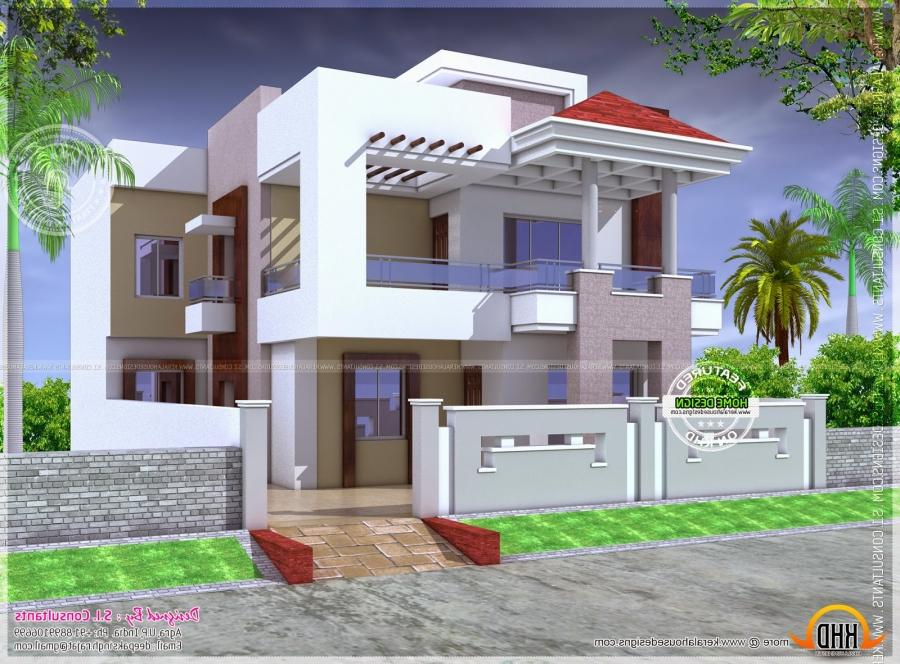 Beautiful houses photos in india for Nice home designs kerala