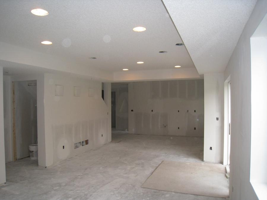 Daryn Krumm, owner of All Pro Plaster  Drywall Inc, and his team,...