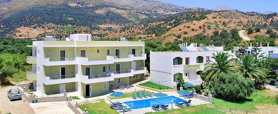 Manolis Apartments in Crete, Plakias