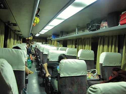 Volvo bus interiors photo