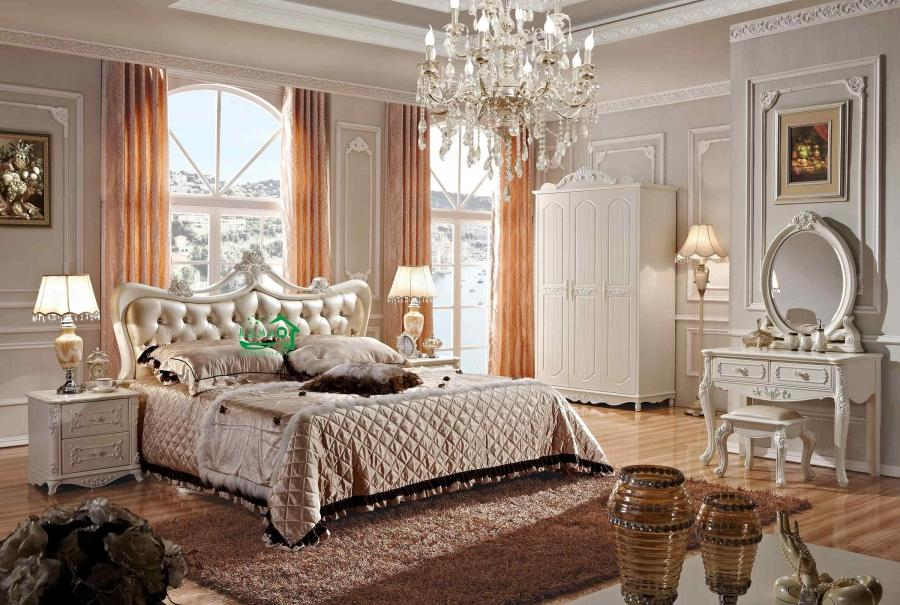 2013 New Design French Bedroom Furniture YF 8699 photo Details