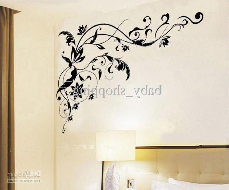bedroom wall art EMS u0026#39;Black caneu0026#39; wall Decoration...