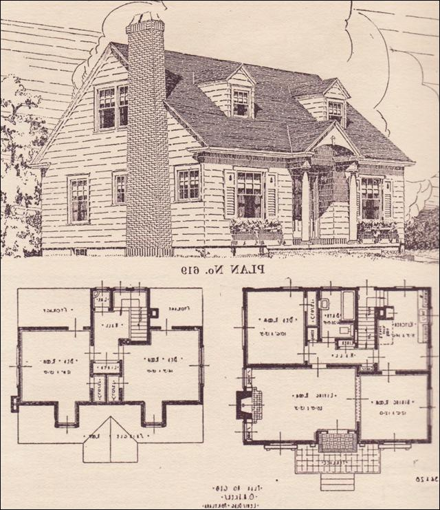 Cape cod house plans with interior photos for Colonial cape cod house plans