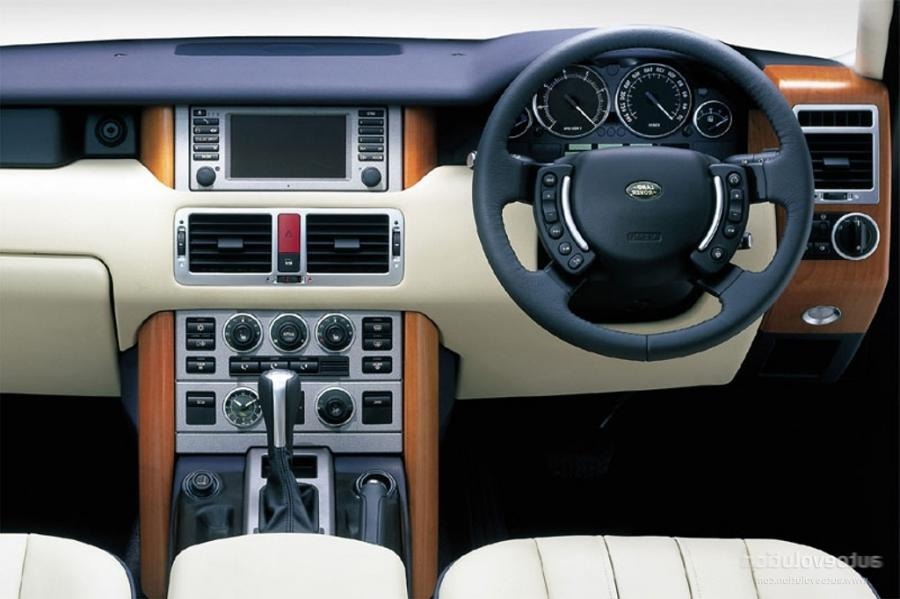 2005 Range Rover Interior Photos