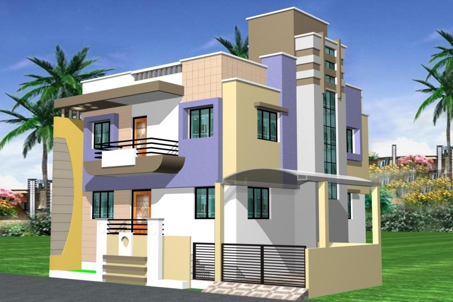 Row House Front Elevation Designs : Row house elevation photos