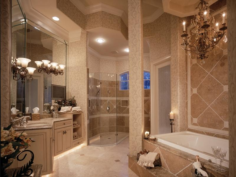Designer master bathrooms photos for Large bathroom designs