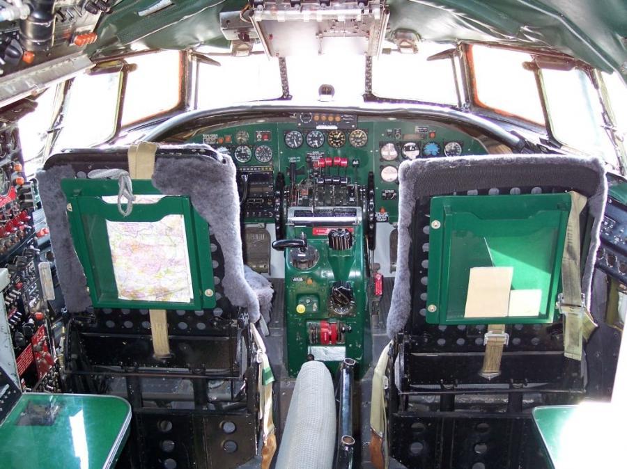 Lockheed Constellation Interior Photos