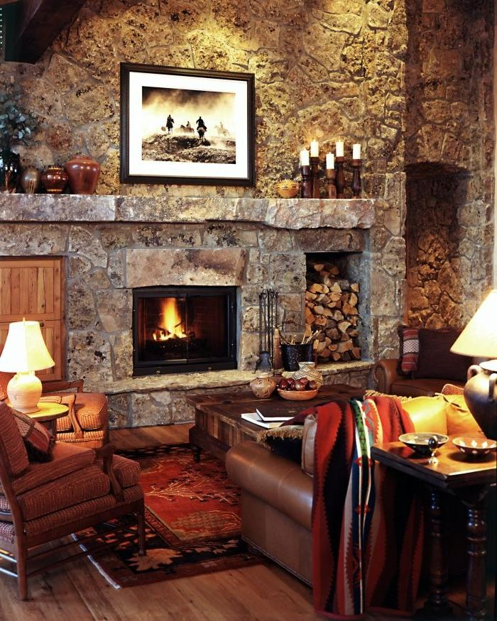 Great Room Fireplace Photos