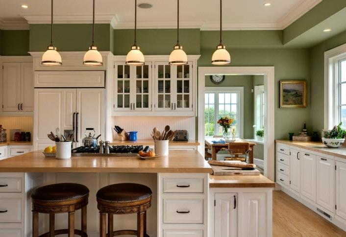 Wainscoting kitchen photos - Wainscoting kitchen cabinets ...