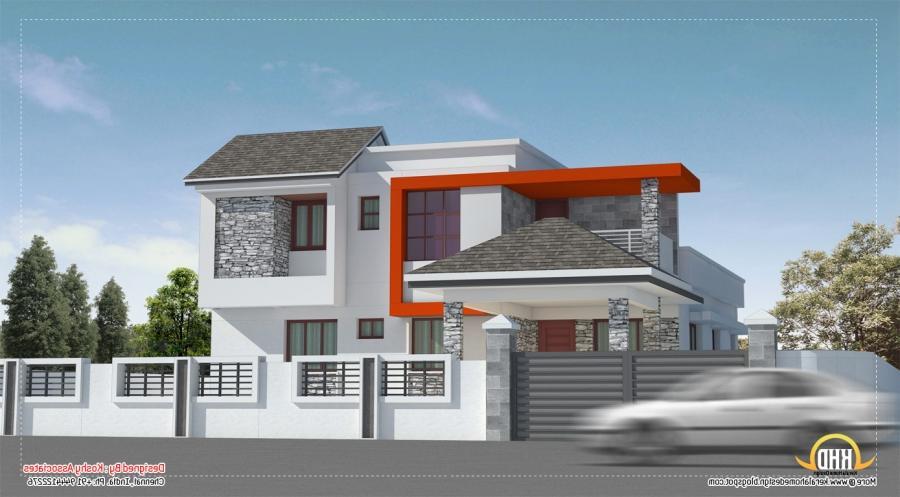 House model photos chennai for Exterior home design in chennai