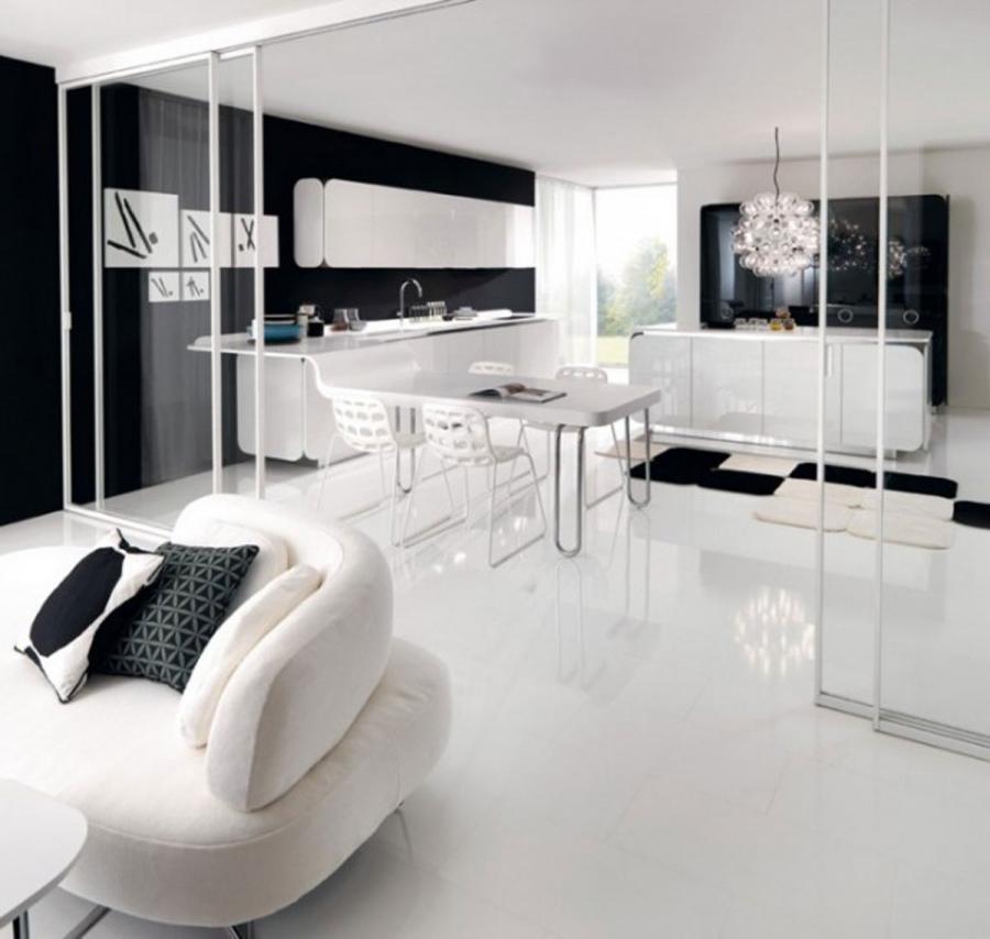 Black And White Kitchens Photos