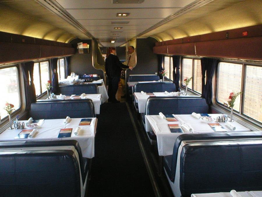 Amtrak Crescent Interior Photos