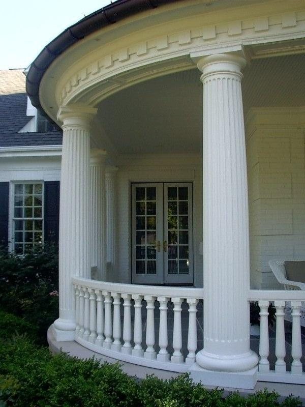 Looking For Stone Columns : Porch with columns photos