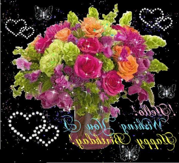 happy birthday bouquet wallpaper - photo #11
