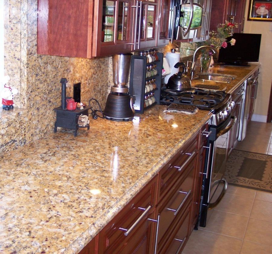 Santa Cecilia Granite Photos Kitchens