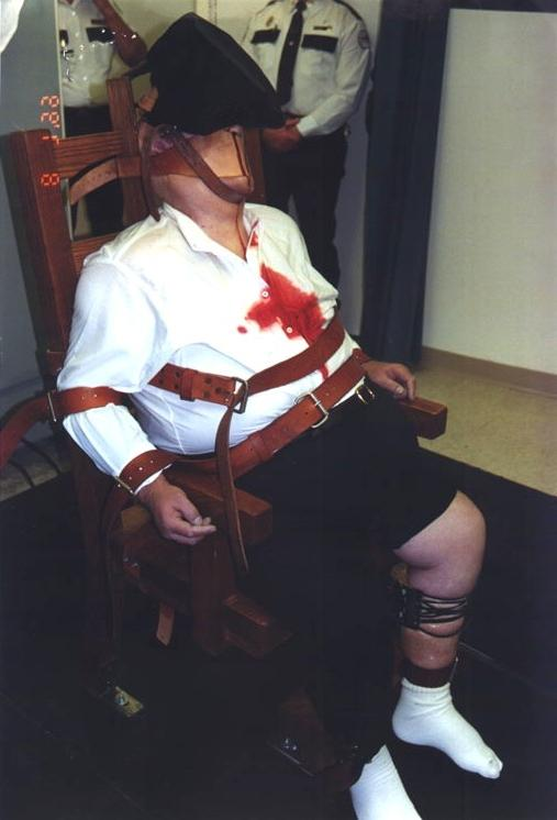 Allen lee davis electric chair execution photos