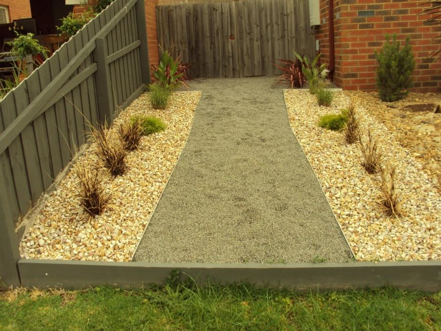 Simple rock garden photos for Landscaping rocks geelong