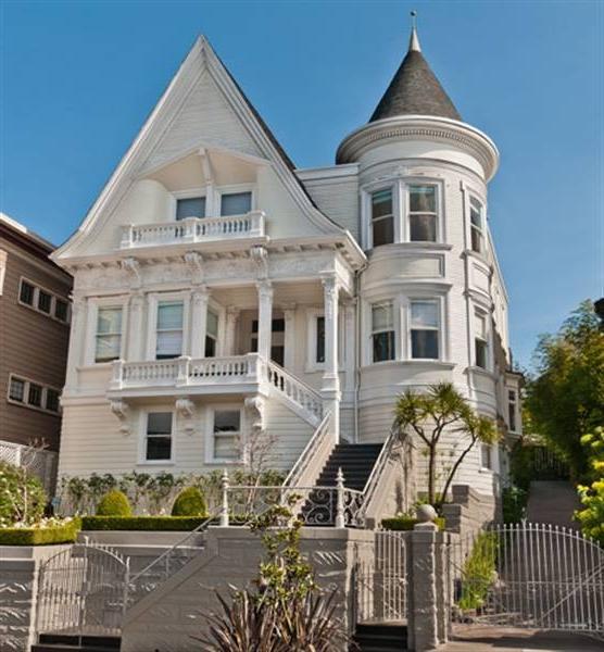 San Francisco Victorian House Photos