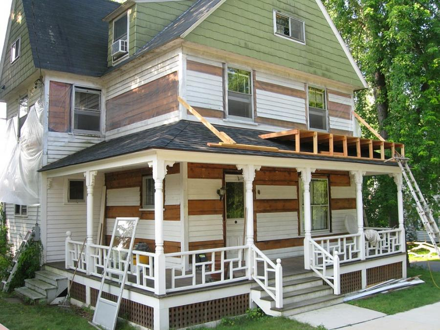 Front Porch, : Comely Ideas For Home Exterior Decoration With...