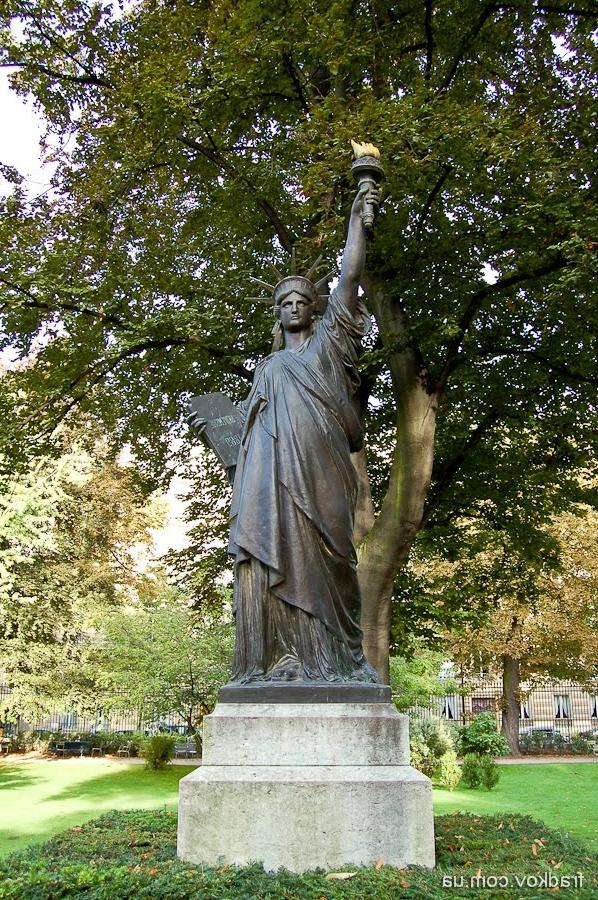 Photos of gardens of luxembourg - Jardin du luxembourg statue of liberty ...